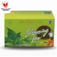 MUSTIKA RATU SLIMMING TEA HONEY LIME ISI 15'S
