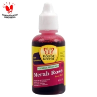 PEWARNA MERAH ROSE (30ml)