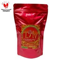 Lily Snack Abon Kriuk Jamur Pedes Level 15 - 125gr