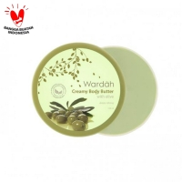 Wardah Creamy Body Butter With Olive, 100 ml