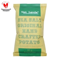 Van Landa - Sea Salt Original - Keripik Kentang 80gr