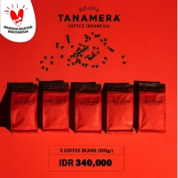 PROMO 5 COFFEE BEANS 100GR, TANAMERA COFFEE