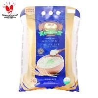 MD - Organic Brown Rice 2kg - Beras Coklat - Organik - Rendah Kalori