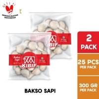 KIBIF Bakso Sapi 25 Pcs 300 Gr Multipack