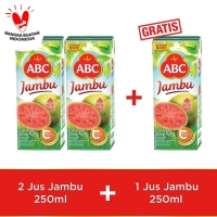 ABC Jus Jambu 250 ml - Buy 2 pcs Get 1 pcs Free