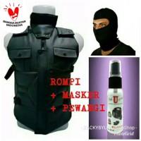 Paket Hemat Bundling 3in1 | Rompi RS60 + Masker Ninja + Pewangi Rompi