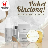 Paket Kinclong Ms Glow dan Radiance Gold