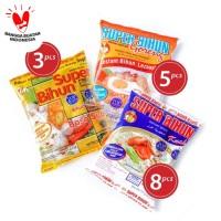 Paket J - Super Bihun Kuah (8 pcs) + Goreng (5 pcs) + Baso (3 pcs)