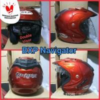 PROMO Helm BXP Navigator double visor SNI half face