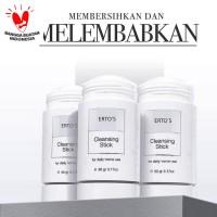 Ertos Cleansing Stick Sabun Pembersih Wajah Stick - Original BPOM