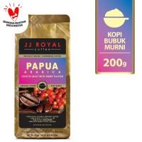 Coffee/Kopi JJ Royal Papua Arabica Ground Bag 200g