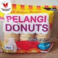 donat kentang pelangi jumbo isi 21s potato donuts