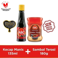 Bundling ABC Kecap Manis 135ml & Sambal Terasi 180g