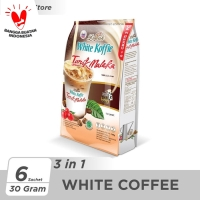Kopi Luwak White Koffie Tarik Malaka Bag 6x30gr