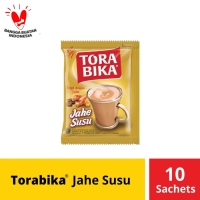 Torabika Jahe Susu Instant 10 Sachet @ 25 Gr