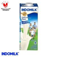 SUSU UHT FC INDOMILK PLAIN 1000 ML-N X Pcs