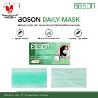 BOSON Masker Hijab Headloop 3 Ply Isi 40 Pcs - Disposable Daily Mask