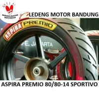Premio 80/80-14 Sportivo Ban Tubeless Aspira Duo Massimo Motor Matic