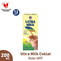 Ultra Milk Coklat 200ml (12pcs)