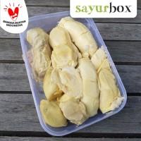 Durian Medan Kupas - 1 pack (Sayurbox)