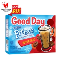 Good Day Kopi Freeze Mocafrio Dus (5 Sachet@30 Gram)