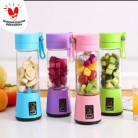Juicer Mixer Cup Blender Mini Portable USB - Mini Blender 6 Blade