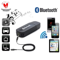 USB Bluetooth Receiver Adapter Wireless Audio Stereo AUX