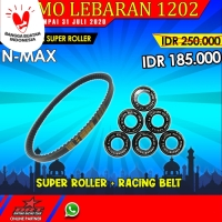 Paket Super Roller & V Belt BRT Yamaha Nmax