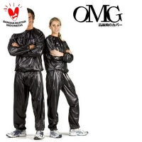 Baju Sauna Suit OMG Jaket Celana Olah Raga Pria Wanita Best Quality