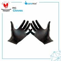 Sarung Tangan Karet Detailing Hitam Hand Glove Detailing Hand Gloves