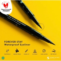 SOMETHINC Forever Stay Waterproof Liquid Eyeliner - Blackest Black