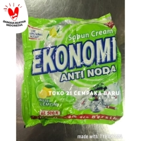 Sabun Cream Ekonomi LEMON EL500K Sabun Krim Colek Noda HIJAU EL 500 K