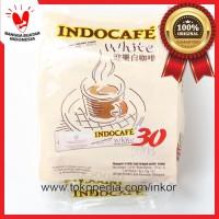 INDOCAFE WHITE 30 STICKS PACK SERBUK KOPI DENGAN KRIMER NABATI 30X12GR
