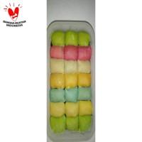 Pancake Durian Mini Rainbow Tanpa Krim Duren Medan (No Cream)