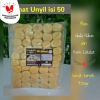 Donat Kentang Unyil 3D isi 50 plus gula dan krim cokelat