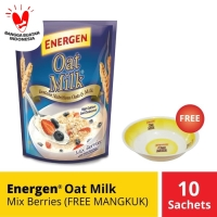 Energen Oatmilk Mix Berries FREE MANGKUK