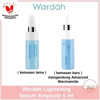 [SATUAN] Wardah Lightening Facial Set Serum Wajah 5ml