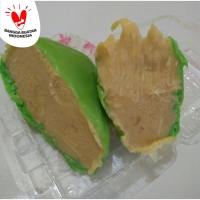 Pancake Durian Jumbo XL Tanpa Krim (Pancake duren no cream)
