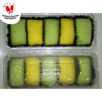 Pancake Durian Jumbo isi 5 Duren Medan