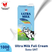 [3PCS] Ultra Milk Full Cream 1000 ml