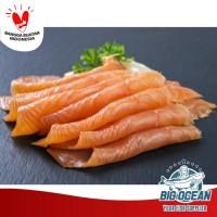 Ikan Salmon  Smoked Salmon (Norwegian Cold Smoked) @150gr IMPORT