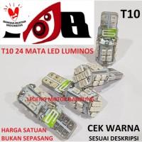 T10 24 Mata 1206 Lampu Led Senja Sen Motor Mobil Nine Luminos
