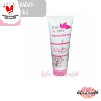 Serum Badan Fair n Pink Bpom 160ml / whitening body serum fair n pink