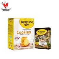 Tropicana Slim Hokkaido Cheese Cookies + Cafe Latte (10 Sch)