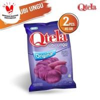 Qtela Ubi Ungu Original 45 Gr - 2 Pcs