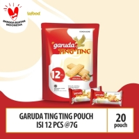 Garuda Ting Ting Pouch - Isi 12 pcs @7g (Beli 10 Gratis 10)