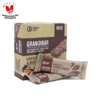 Granola Creation - Granobar Chocolate Almonds Cashew - 5 Pcs (box)