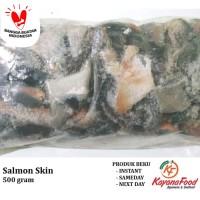Kulit/Skin Salmon 500 gram