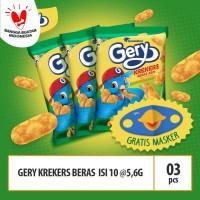 Gery Kreker Beras Isi 10 @5,6g (BRP10) Beli 3 Bag Free Masker Gery
