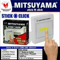 Lampu Tempel Emergency / Switch Light / Mitsuyama STICK N CLICK LED